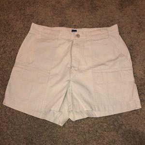 Gap size 10 khaki shorts